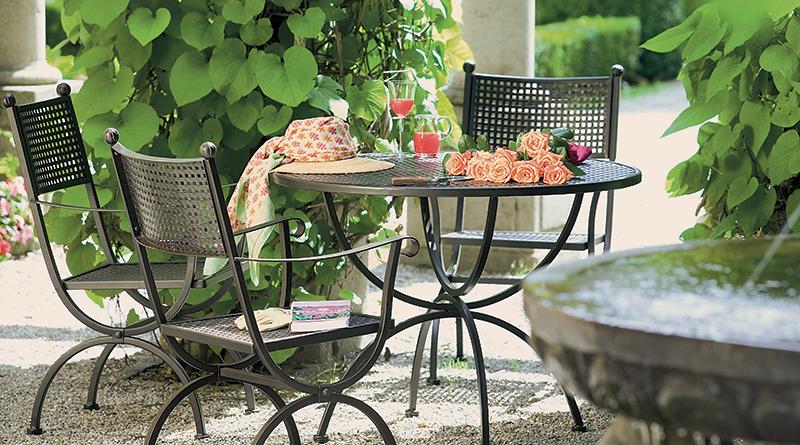 Mobilierul de grădină