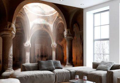 Câteva sfaturi despre amenajarea locuinței tale folosind un tapet 3D!